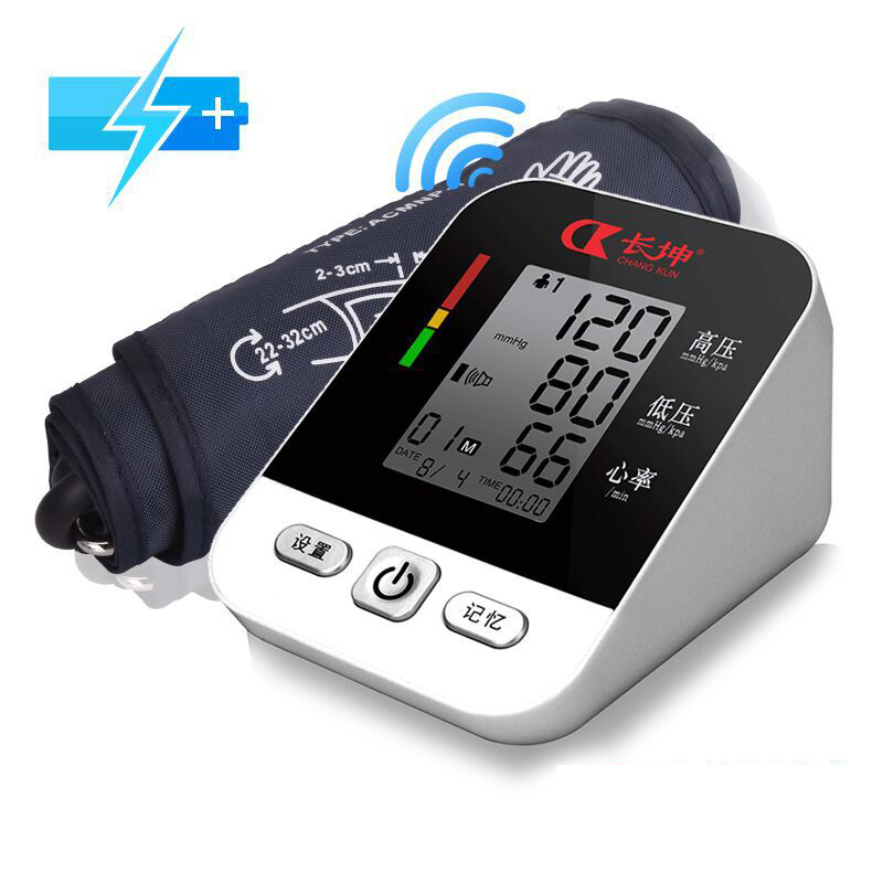 pressure instrument old man blood pressure meter blood pressure meter household arm full automatic electrical apparatus portable lcd digital manometer pressure gauge ht 1895 psi air pressure meter protective bag manometro pressure meter