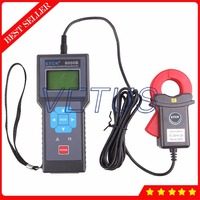 ETCR8000B Online monitor digital ammeter with 0.01mA Resolution AC Leakage Current Clamp Meter Tester repairing electrical lines