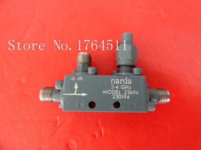 [BELLA] Narda 23696 2-4GHz 6dB Coaxial Directional Coupler SMA