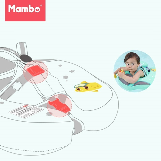 Solid No Inflatable Safety For accessories Baby Swimming Ring floating Floats Swimming Pool Toy  Bathtub Pools Swim Trainer 3