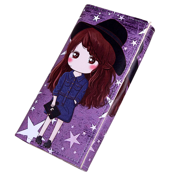 Women Wallets Handbags Lady Moneybags Cartoon Girls Coin Purse Notecase Purses Pocket Clutch Wallet ID Cards Holder Bags Pouch luxary women wallets lady purses cards id holder handbags moneybags long coin purse good quality female casual fold wallet bags