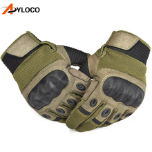 Купить с кэшбэком Touch Screen Carbon Hard Knuckle Tactical Gloves Army Military Combat Airsoft Climbing Shooting Paintball Full Finger Gloves