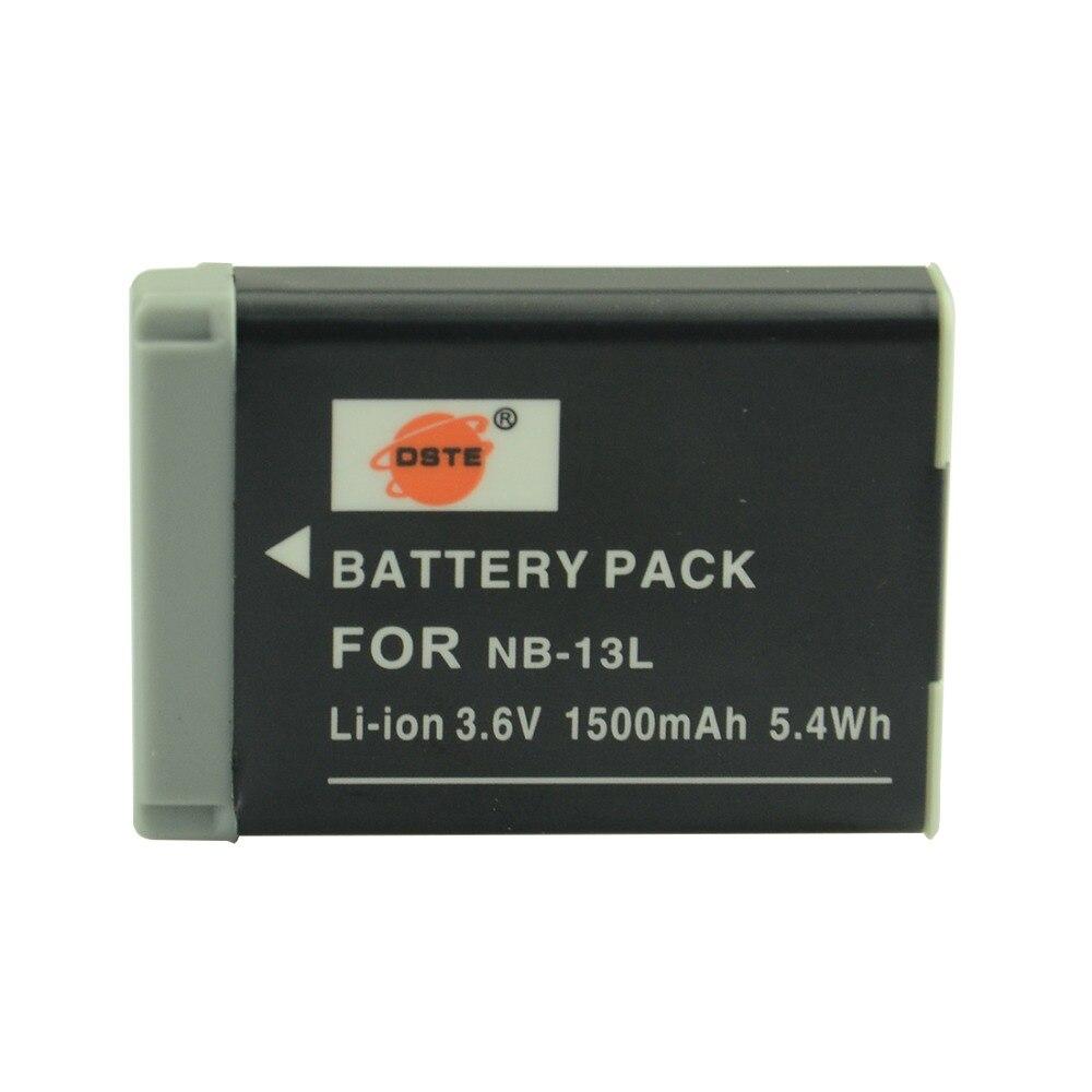 NB-13L DSTE Аккумулятор Для Canon G7X Камеры