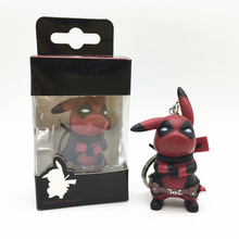 FUNKO POP Pocket Pop Keychain Deadpool Pikachu Action Figure