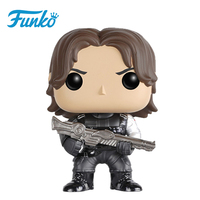 Authorized FUNKO POP First Edition Official Civil War Winter Soldier Action Figure Iron Man Mini Model Toy Figures Birthday Gift