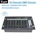 24 канала простой DMX контроллер сценическое освещение DJ оборудование DMX консоль для LED Par движущаяся головка прожекторы DJ контроллер
