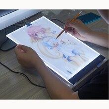 Dijital Tablet A4 LED Sanatçı Ince Sanat Stencil Çizim Kurulu Işık Kutusu İzleme Masası Pad elmas boyama aksesuarları
