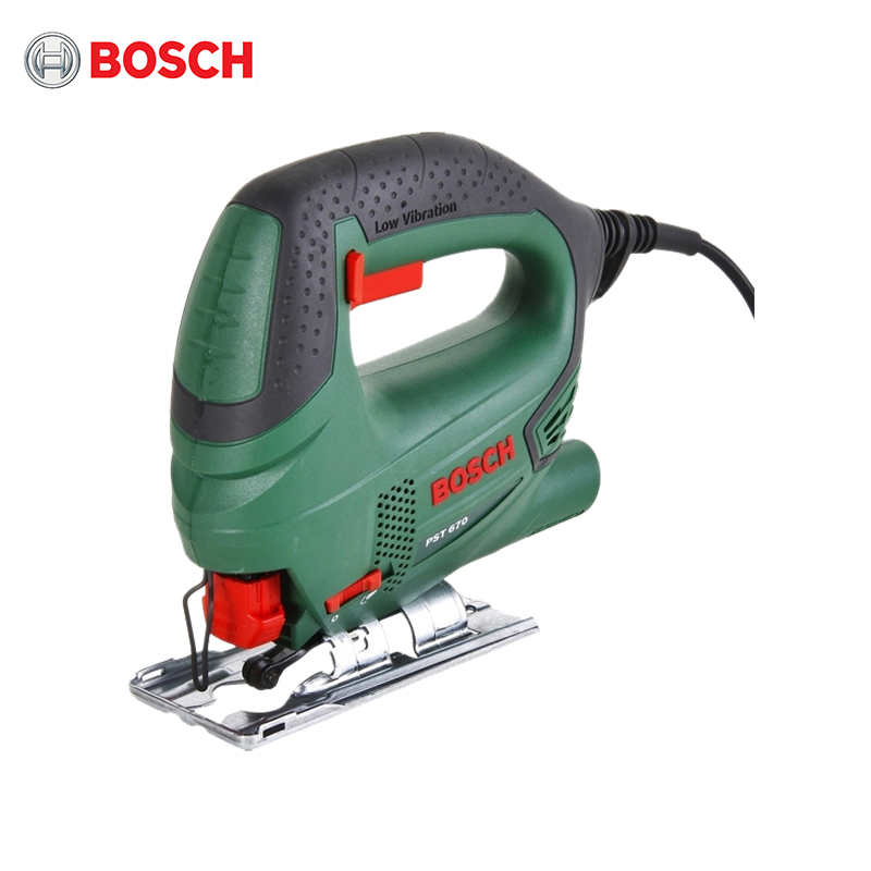 Jig saw Bosch PST 670 + set of saws 5pcs hole saw tooth hss hole saw cutter drill bit set 16 18 5 20 25 30mm