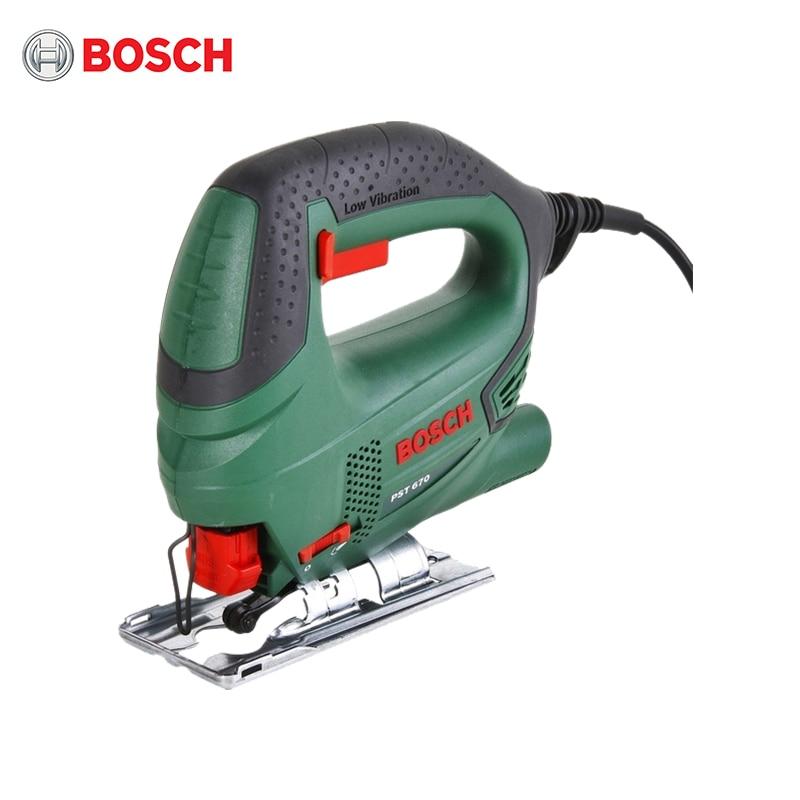 Jig Saw Bosch PST 670 + Set Of Saws