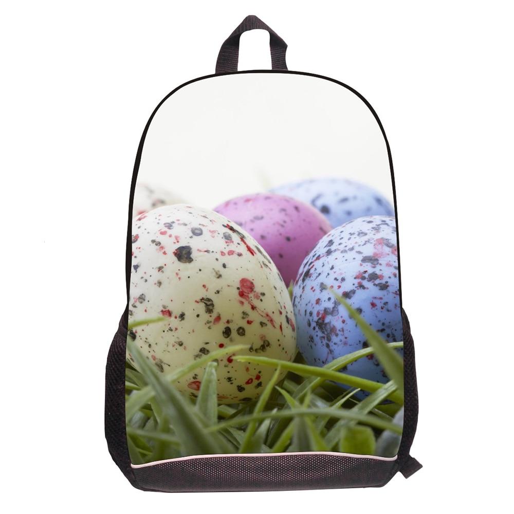 3D принт милый динозавр яйца животных рюкзак для 3-5 класса Обувь для девочек Обувь для мальчиков школьная Рюкзаки для студентов Повседневное... ...