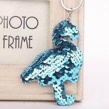 iMucci Cute Star Unicorn Mermaid Keychain Glitter Pompom Sequins Key Chain Gifts for Women Car Bag Accessories Key Ring