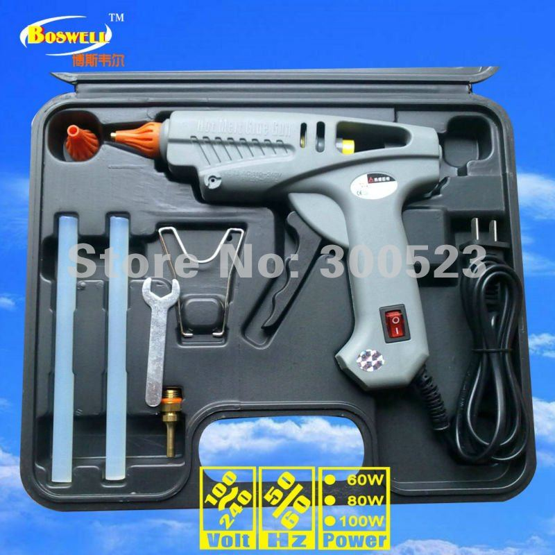 Kit: AUS plug With power switch 100 watt hot melt glue gun, 1 pcs/lot, free shipping  цены