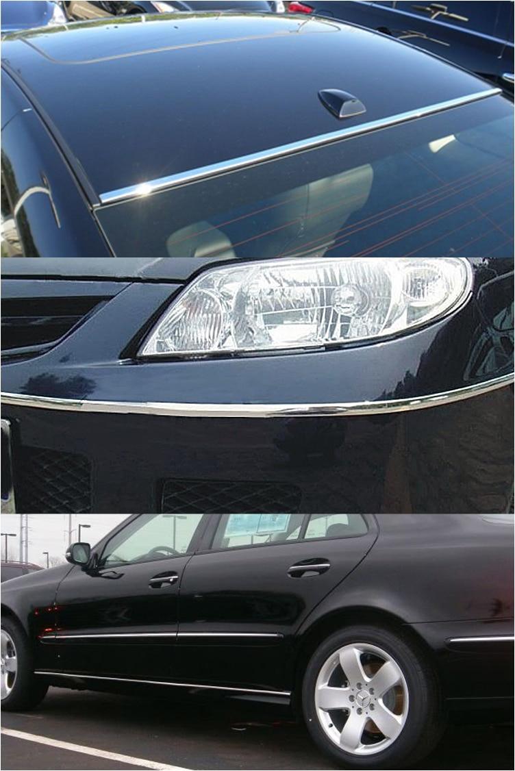 YENI 5 mx 20mm Araba Krom Trim Styling Dekorasyon Kalıp Yan Şerit - Araba Parçaları - Fotoğraf 5