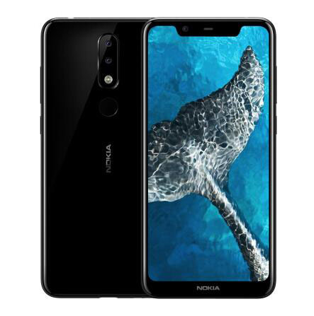 Nokia X5 2018 3G RAM 32gb ROM 3060mAh 13.0MP 3 Camera Dual Sim Android LTE Fingerprint new Mobile Phone