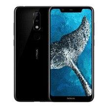Nokia X5 2018 3g Оперативная память 32 ГБ Встроенная память 3060 mAh 13.0MP 3 Камера Dual Sim Android LTE отпечатков пальцев Новый мобильный телефон