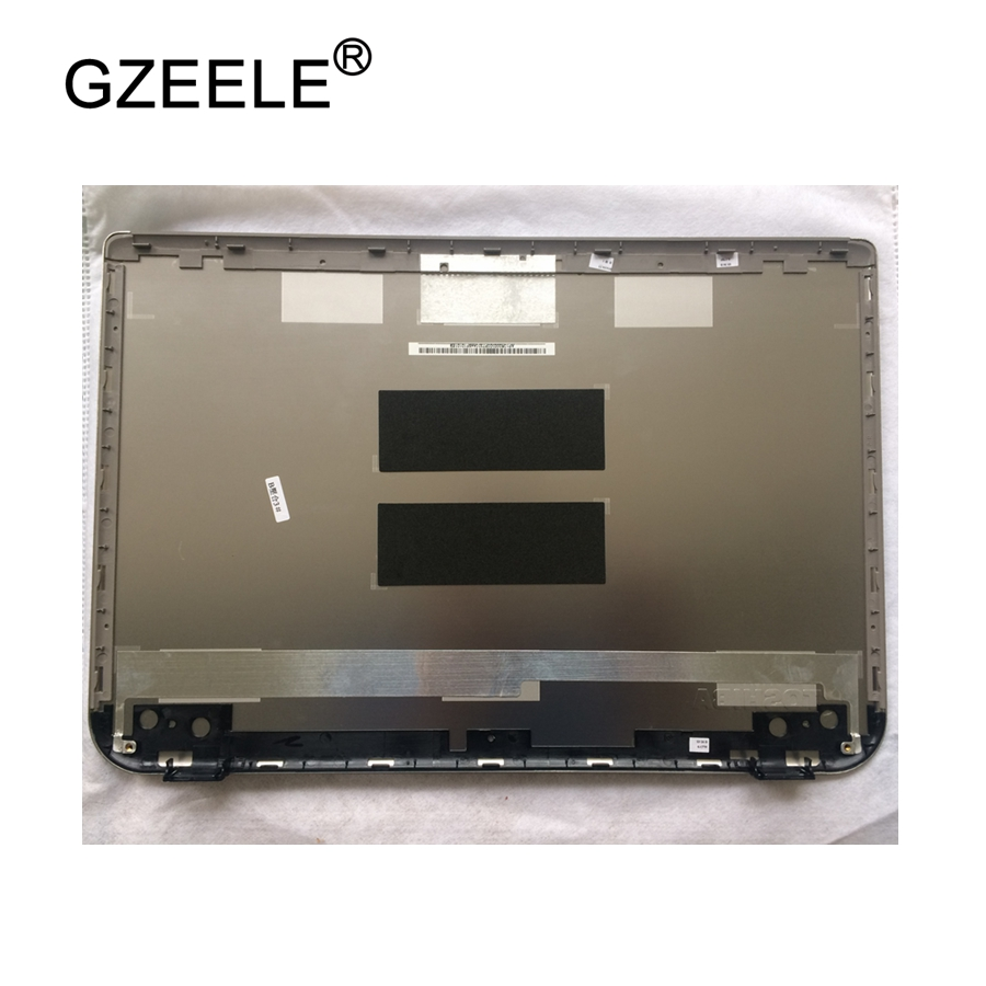 GZEELE new laptop case LCD TOP Cover for TOSHIBA U40-A LCD COVER LCD Top LCD Back Cover silver AE10R000300W цена