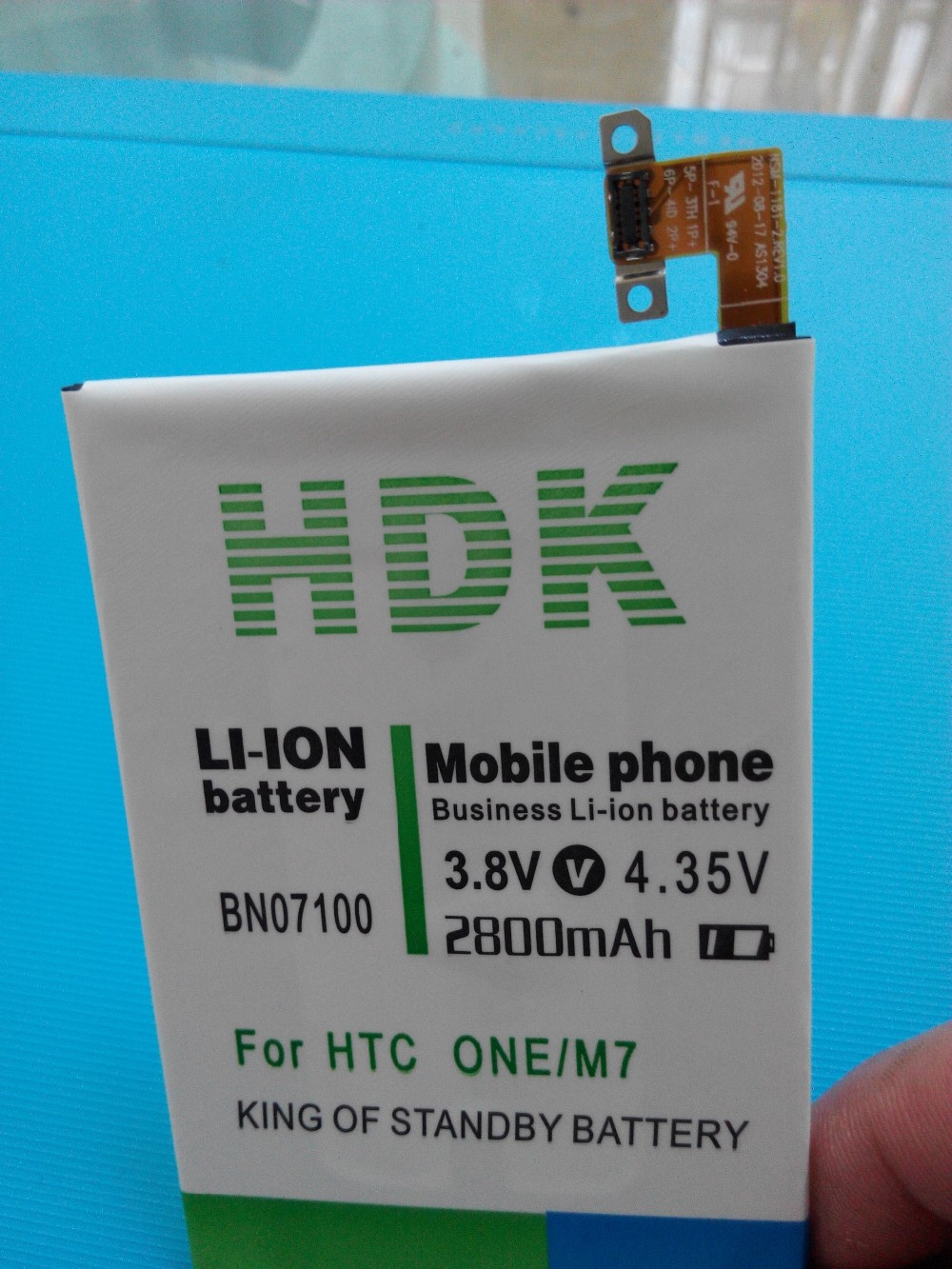 New Replacement Battery 2800mAh BN07100 Phone Battery Use for HTC ONE M7 802D 802T 802W 801E