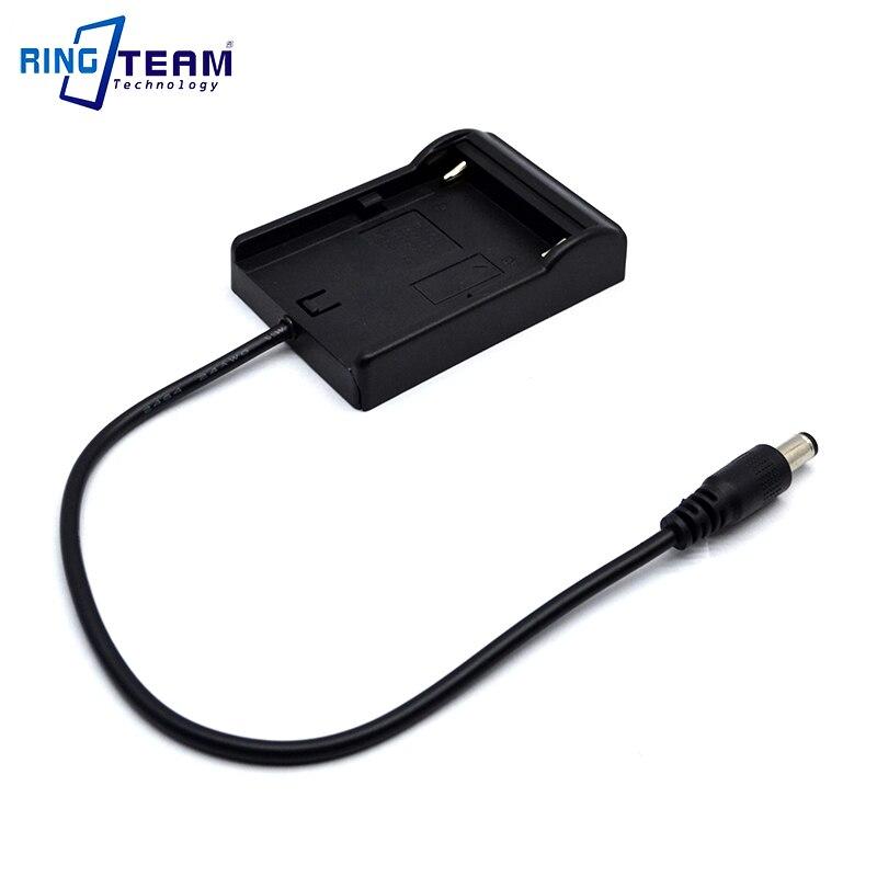 7.6V NP-F970 BN-V607 VW-VBD1 Battery Mount Cradle Holder Adapter Plate DC 5.5*2.5mm For Monitor Light Lamp Camera Teradek VidiU