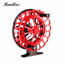 Mavllos Fly Fishing Reel 2 Stainless Steel Bearings Super Smooth Fishing Reel Ultra Light Aviation Aluminum Fly fishing tackle