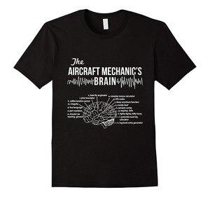 Camisetas de algodón para hombre, Camiseta clásica de Hip Hop 2019, ropa de calle, camiseta mecánica de aviones, camiseta de mecánico de aviones