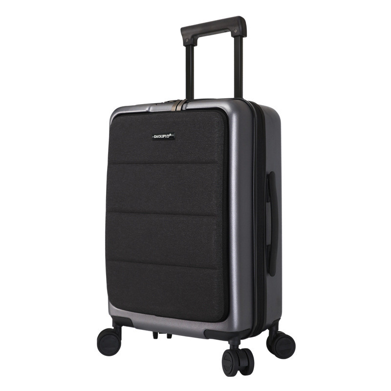Casual Travel Trolley Luggage Aluminum Frame TSA Alloy Business Rolling Luggage Airplane Suitcase Spinner Wheels 20inch