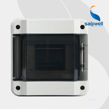 8 Ways IP65  Waterproof Distribution Box / Industrial Waterproof Enclosure  SHK-8  185*185*105mm