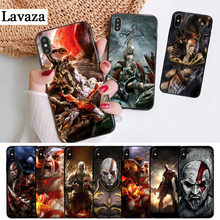 Lavaza god of war kratos Perfect Silicone Case for iPhone 5 5S 6 6S Plus 7 8 11 Pro X XS Max XR