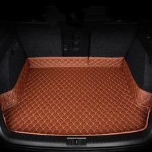 Mat tronco de carro, forro de carga, boot mat traseiro, ajuste personalizado para Audi A4 A5 S5 A6 A8 A8L Q5 Porsche Cayenne Panamera Chang'an CS75