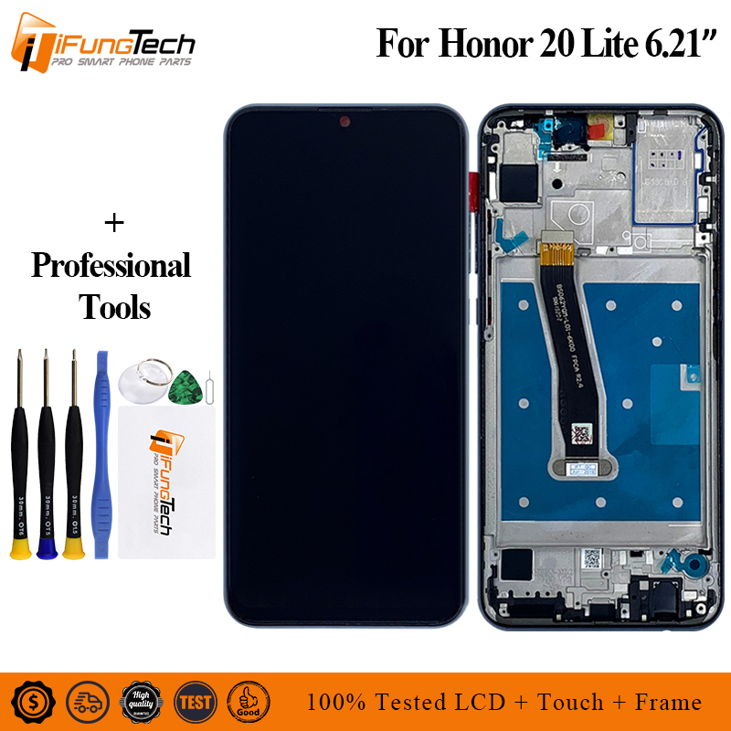 2340 1080 AAA Quality FHD LCD For Huawei Honor 20i Lcd Display Screen Replacement For Honor 20 Lite Screen Display Assembly in Mobile Phone LCD Screens from Cellphones Telecommunications