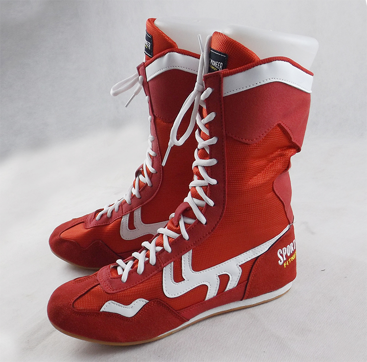Boxing Boots Wrestling Training Shoes Adult Fitness High Top Sports Shoes Unisex Plus Size wrestling shoes