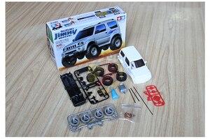 Image 2 - 1:32 modell auto für Suzuki Jimny Modell Erwachsene spielzeug 4X4 Garage kit offroad zubehör