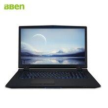 Bben ноутбук с процессором Intel Core i7-6700K процессор 8 м Кэш, 4.0 ГГц до 4.20 ГГц DDR4 8 ГБ 256 ГБ M.2 SSD + 2 ТБ HDD Win10