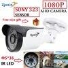 Zjuxin Ahd Camera 1080p 5 36 LED Ahd 2mp SONY SENSOR Camera With HD 3 6mm