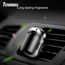 Car Freshener Alloy Mini Robot Vent Clip Perfume Diffuser Decor Automobiles Internal Solid Balm Smell Air Purifier Accessories