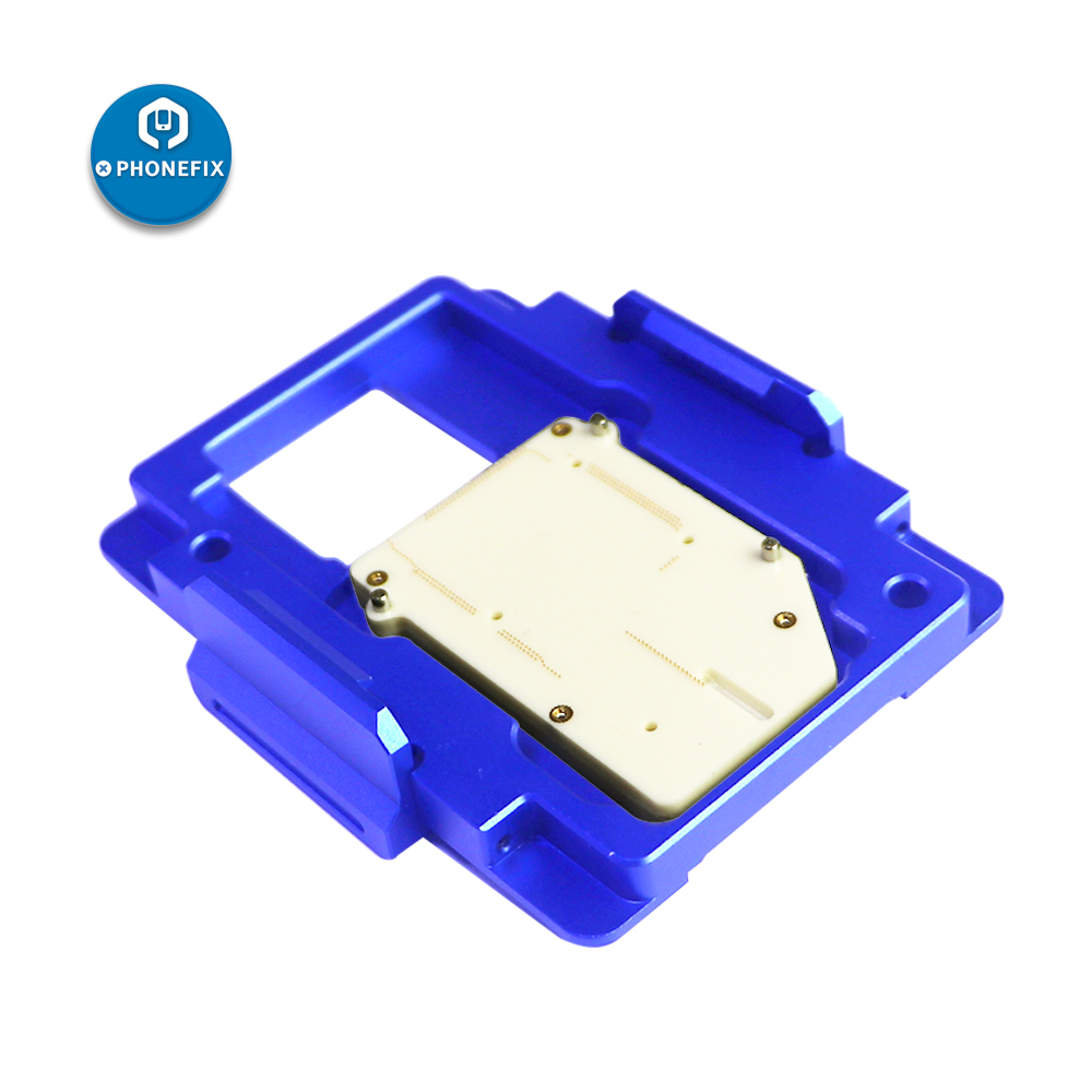 MJ C13 C11 iSocket jig Double Layers Logic Board Test Fixture For IPhone X XS MAX motherboard BGA Soldering disassemble Repai - 6