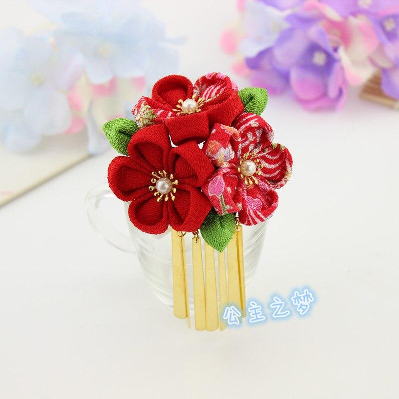 Garras Acessório de Cabelo Ornamento Da Flor