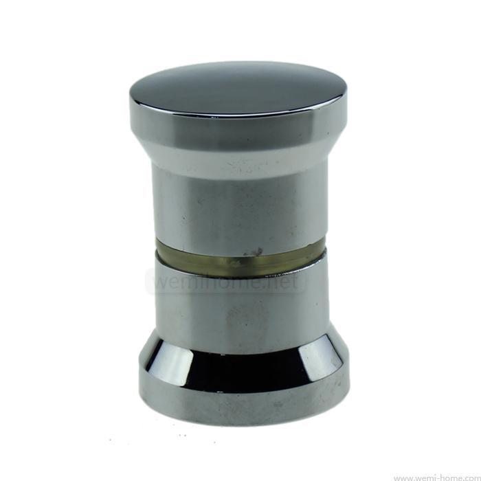 replacement chromed shower bath door handle knob arc shape - Shower Knobs