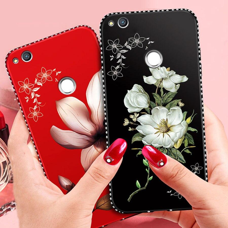 Чехол со стразами для Huawei Honor Play 8 9 10 Lite 20 Pro 20S 30 30S 10i 8X 9X 9A новый роскошный мягкий