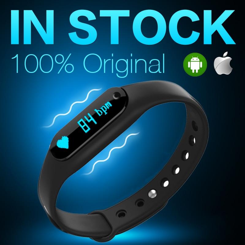 imágenes para Banda 1 s pulsómetro inteligente pulsera para android/ios gimnasio rastreador c6 mi banda 2 relogios inteligentes p30