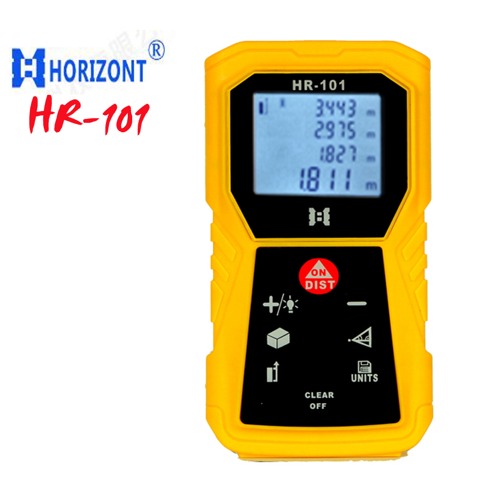 ФОТО HR-101 Handheld distance meter 40m laser rangefinder distance measurer tool measure professional LCD display free shipping