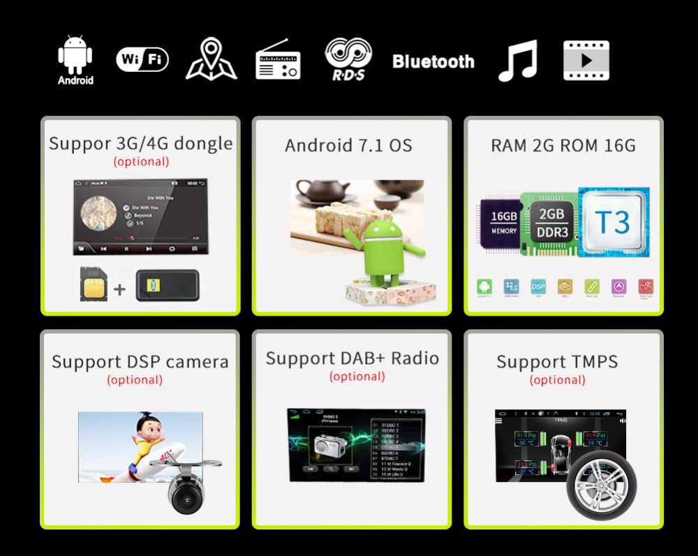 automotivo DDR3 Android NISSAN 12