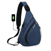 กระเป๋ากรณีของผู้ชายกระเป๋าแฟชั่นผู้หญิงสลิงกระเป๋าความจุสูงหน้าอกกระเป๋าที่มีคุณภาพส...