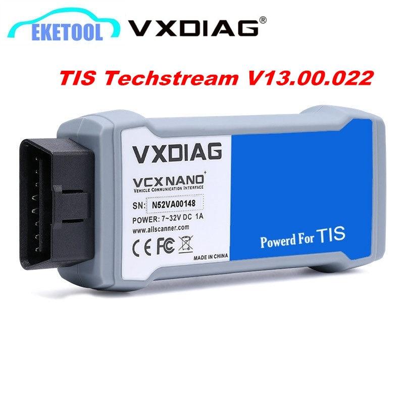 Professional Diagnostic VXDIAG for Toyota TIS Powered V13.00.022 VXDIAG VCX NANO For TOYOT