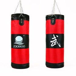 جديد 100 سنتيمتر اللياقة البدنية التدريب MMA حقيبة ملاكمة هوك معلقة saco دي boxe ركلة القتال حقيبة الرمل لكمة اللكم حقيبة الرمل