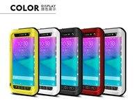 Original Love Mei Powerful Case For Samsung Galaxy Note Edge N9150 Dirtproof Waterproof Shockproof Aluminum Case