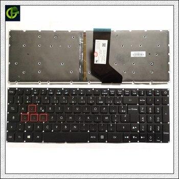 French Azerty Backlit keyboard  for Acer Predator Helios 300 G571 PH317-51 NK.I1513.053 G3-571 G3-572 PH315-51 G3-572-72YF fr
