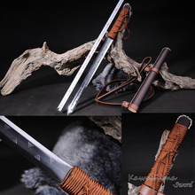 Function Tactical Tanto 1095High Steel Japanese Sword Full Tang Hunting Knife