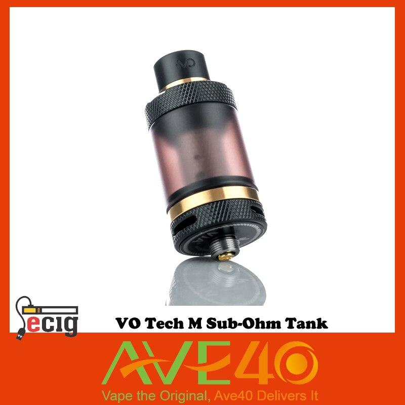ФОТО 100% Original VO Tech M Sub-Ohm Tank Smoked Glass 22mm Diameter 3ml Tank Capacity electric cigarette from ave40 VS IJOY