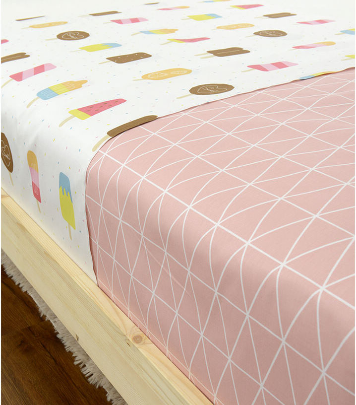 new arrived pink bedding fabric extra wide 235cm qute printed bedding textile 100%cotton clothing fabric tilda quicking fabric