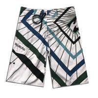 Marke Quick Dry Board Shorts Gestreift Sommer Mens Surfen Strand Shorts Badehose Schwimmen Tragen Phantom Boardshorts Spandex